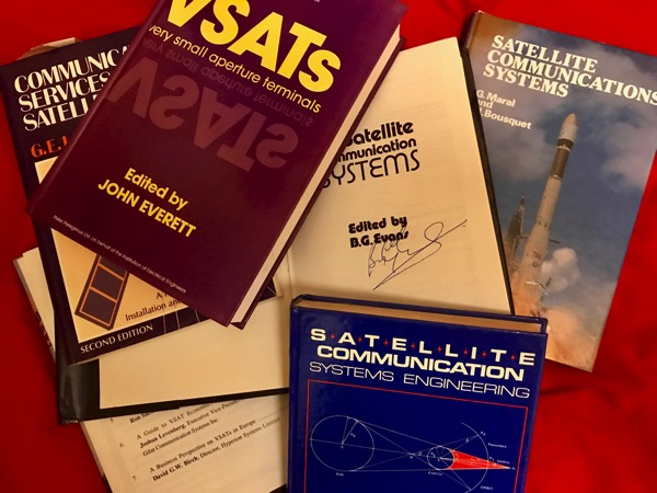 Books about satellite communications